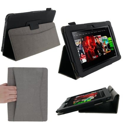 rooCASE Amazon Kindle Fire HD Case
