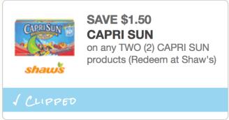 Capri Sun Coupon