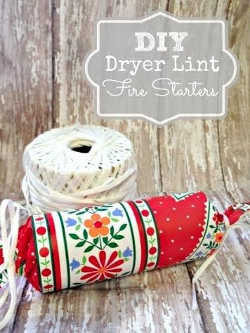 Dryer Lint Fire Starters