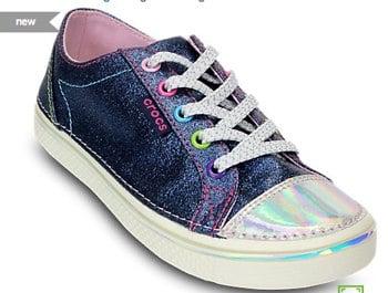 Girls' Deco Glitz Sneaker   Kids' Comfortable Sneakers   Crocs Official Site