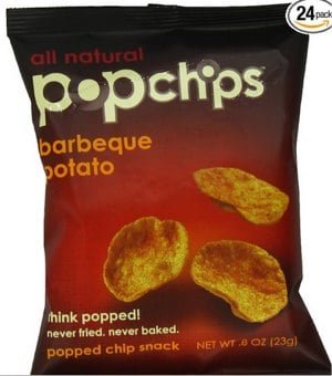 Popchips, Barbeque, 0.8-Ounce Single Serve Bags (Pack of 24)_ Amazon.com_ Grocery & Gourmet Food