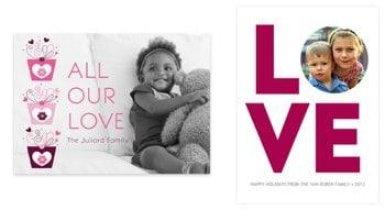 Stylish Designs You Customize - 2014 Valentine Cards