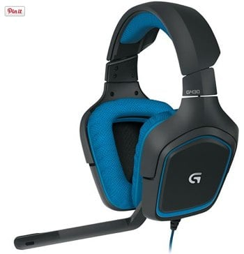 Logitech G430 OvertheEar gaming headset