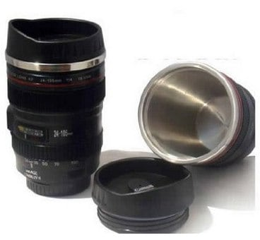 Travel Coffee Mug Thermos with Drinking Lid & Quality Stainless Steel Interior_ Kitchen & Dining