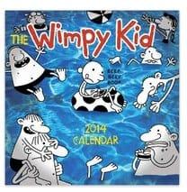 Wimpy Kid 2014 Calendar