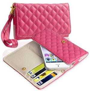 eForCity Leather Cell Phone Wallet