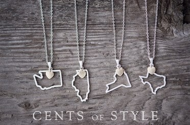 state pendant necklaces