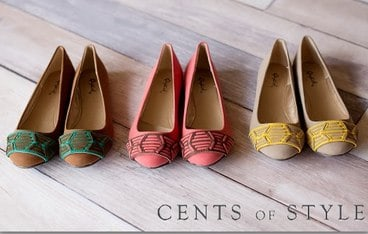 Cents of Style Shoe Sale