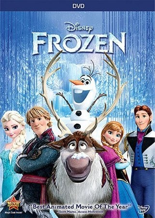 Frozen DVD Sale