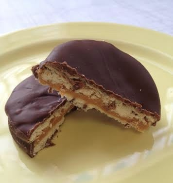 Homemade Tagalong Girl Scout Cookies