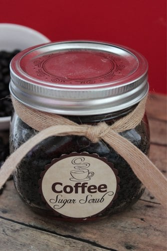 Coffee Sugar Scrub DIY Gift