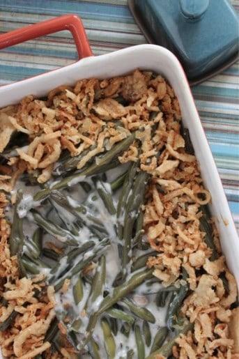 Homemade Green Bean Casserole Recipe
