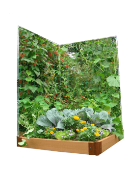 Frame-It-All Veggie Wall Expandable Stainless Steel Trellis System