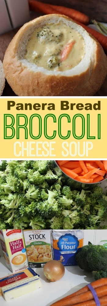 If you love the Broccoli Cheddar Cheese soup at Panera Bread, you will LOVE this copycat recipe!