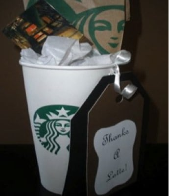 Starbucks Cup Gift Ideas