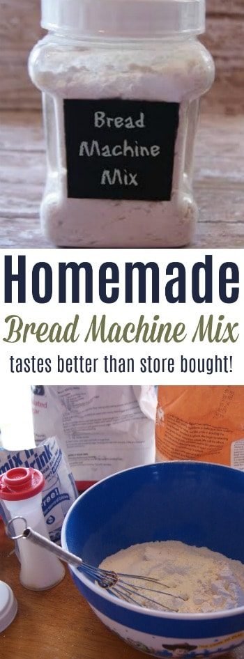 One bath of bread from this homemade mix and you'll never buy store bought again! It's that good!