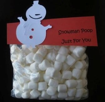 Snowman Poo
