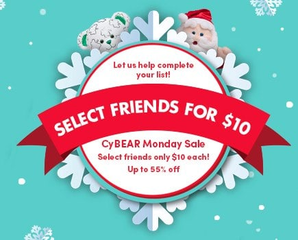 Build-a-Bear Cyber Monday Sale