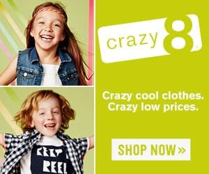 Crazy 8 Promo and Coupon Codes
