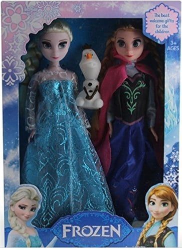 Disney Frozen 3 Pc Toy Set