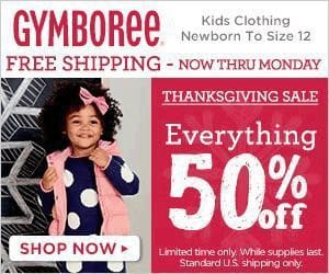 Gymboree Cyber Monday Sales