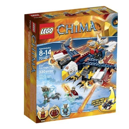 LEGO Chima 70142 Eris_ Fire Eagle Flyer Building Toy