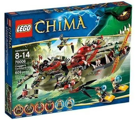LEGO Chima Cragger Command Ship