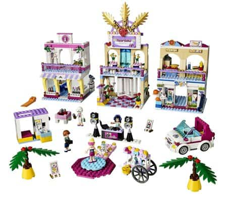 LEGO Friends Heartlake Shopping Mall Building Set
