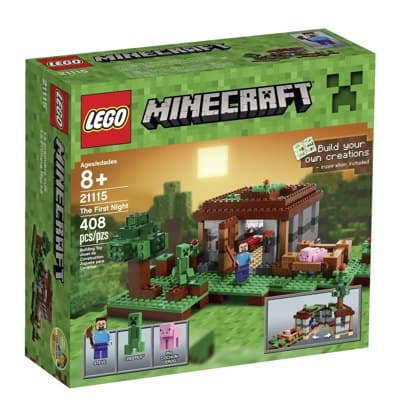 LEGO Minecraft The First Night Sale