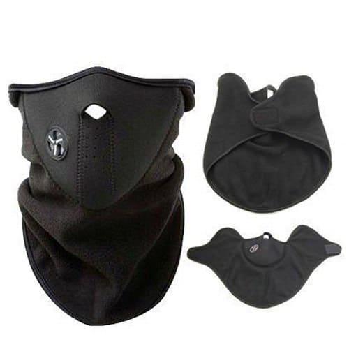 Neoprene Fleece Mask with Face and Ear Warmer
