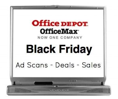 OfficeMax Office Depot Black Friday