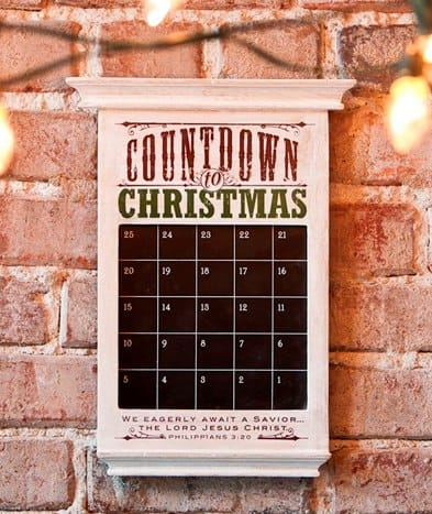 Redeemed Countdown to Christmas Advent Calendar