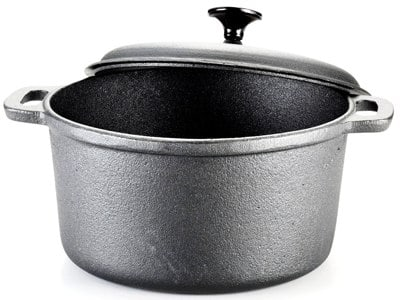 T-Fal 6-Quart Pre-Seasoned Cast Iron Dutch Oven Cookware