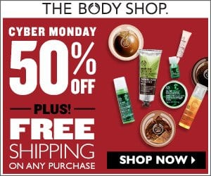 The Body Shop Cyber Monday Sales Offer 2014