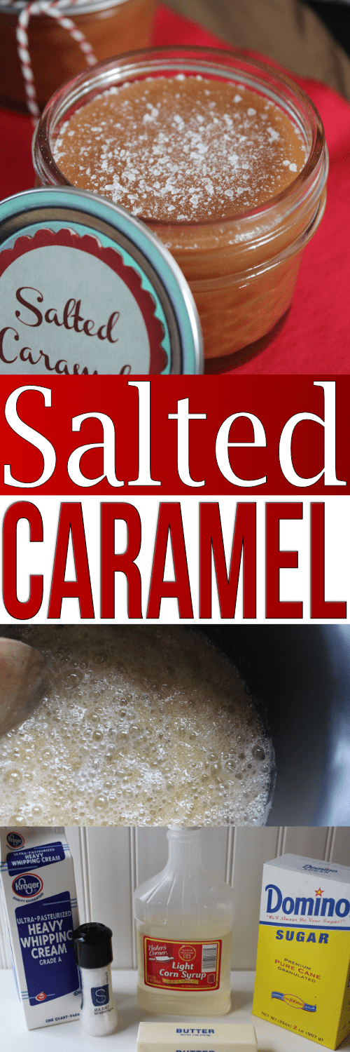 This soft caramel recipe is homemade but super easy to make! This is a thick caramel sauce recipe so it works as stand-alone caramels or mixed-in with other goodies!