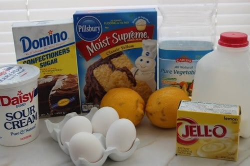 Starbucks Lemon Loaf Copycat Recipe Ingredients