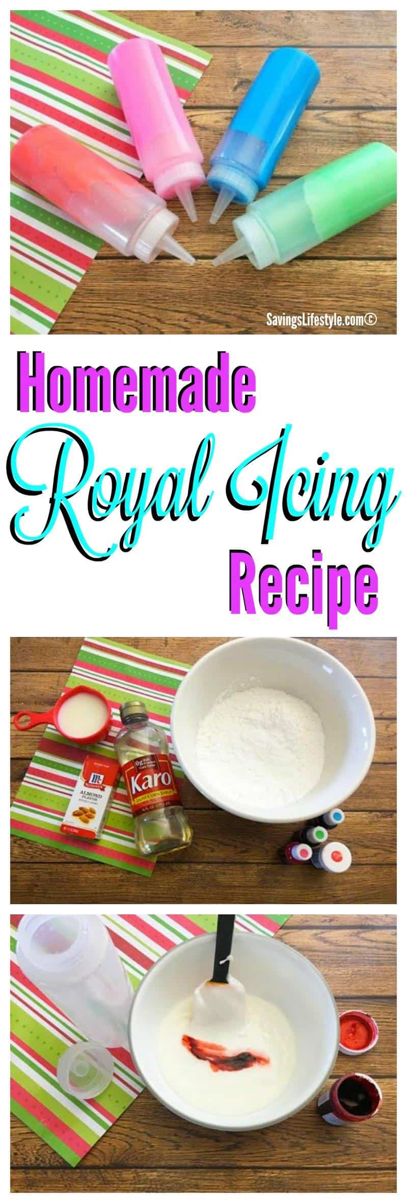 Easy and homemade Royal Icing recipe.
