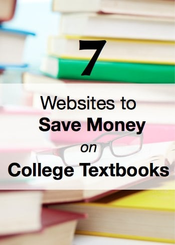 Websites to Save Money on College Textbooks