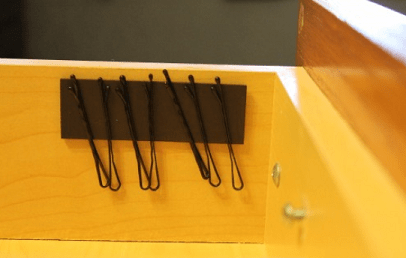 Bobby Pin Holder Organizer