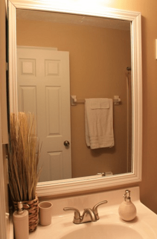 Simple Cool And Simple DIY Bathroom Mirrors To Make  Shelterness