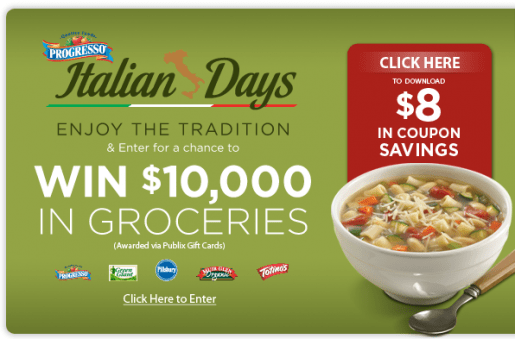 Publix Italian Savings