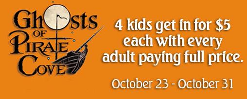 Newport Aquarium Ghosts Of Pirates Cove 5 Admission