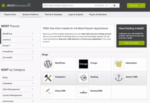 Bluehost WordPress Installation Setup