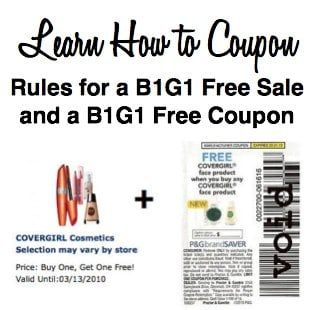 Rules for BOGO Sale and a BOGO Coupon