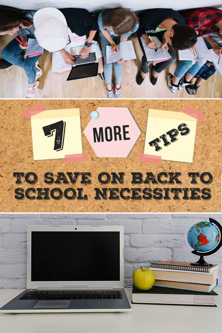 Several other ways to save on back to school items that aren't supplies. Learn how to save more on shoes, clothes, backpacks, and more!