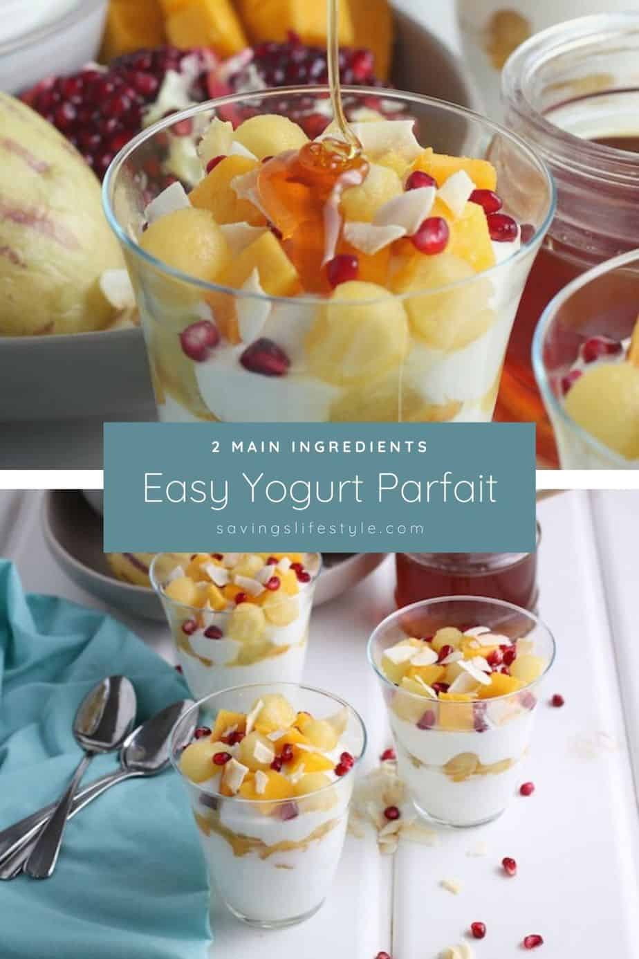Yogurt parfaits are simple to make and perfect for an easy breakfast, quick snack or a healthy late-night treat! via @AndreaDeckard