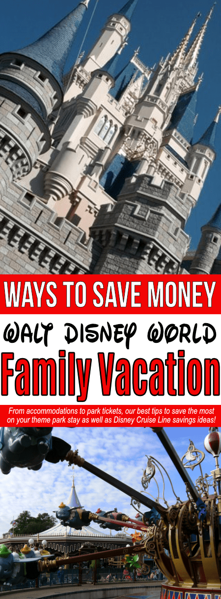 A Walt Disney World vacation is totally possible on a budget! Learn how to save on a Disney family vacation by finding the best dining discounts, learning about Disney payment plans, knowing the lowest Disney World ticket prices, and much more!