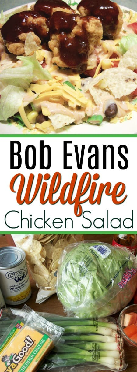 This Bob Evans Wildfire Chicken Salad copycat recipe includes the *secret* ingredient to make it taste just like the popular chain restaurant's version!