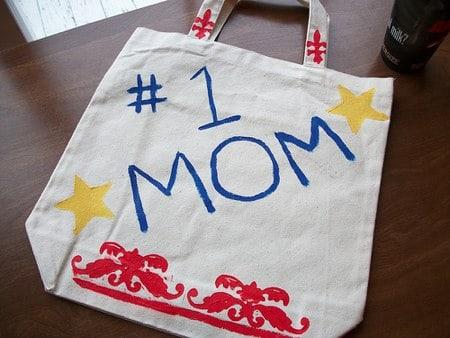 homemade reusable bag project