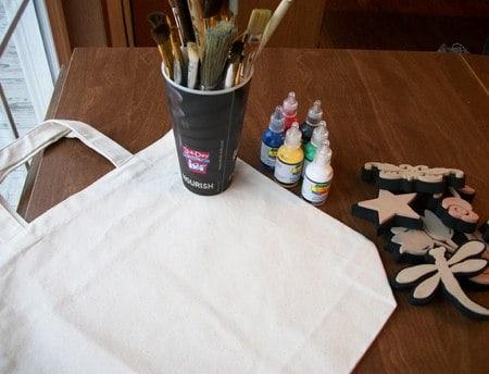 homemade tote bag supplies